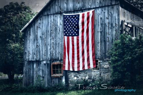 American Pride -  Rustic Woodbury Barn